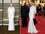Zoe Saldana In Givenchy Couture - 2012 SAG Awards