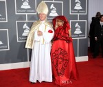 Nicki Minaj In Versace - 2012 Grammy Awards