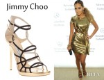Adrienne Bailon's Jimmy Choo High Heel Sandals
