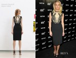 Amber Heard In Antonio Berardi - Vanity Fair Montblanc Party