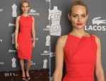 Amber Valletta In Roland Mouret - 14th Annual Costume Designers Guild Awards