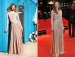 Andrea Riseborough In Christian Dior - 'Shadow Dancer' Berlinale Film Festival Premiere