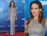 Angelina Jolie In Ralph & Russo - Cinema for Peace Gala 2012