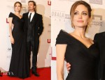 Angelina Jolie In Versace - 'In the Land of Blood and Honey' Sarajevo Premiere