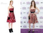 Anna Kendrick In McQ Alexander McQueen – 2012 Independent Spirit Awards