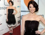 Ashley Greene In Oscar de la Renta - Loveisrespect's 'Louder Than Words' Launch Party