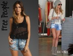 Ashley Tisdale's Free People Itsy Bitsy Glitzy Tank