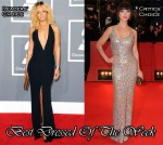 Best Dressed Of The Week - Rihanna In Giorgio Armani & Christina Ricci In Jenny Packham