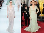 Bérénice Bejo In Elie Saab Couture - 2012 Oscars