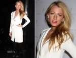 Blake Lively In Noon by Noor - Noon by Noor Fall 2012 Presentation