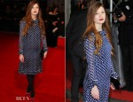 Bonnie Wright In Vintage - 2012 BAFTA Awards