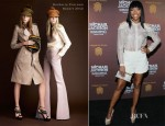 Brandy In Burberry Prorsum - Los Angeles Premiere Of Michael Jackson THE IMMORTAL World