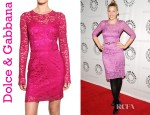 Busy Philipps' Dolce & Gabbana Lace Dress