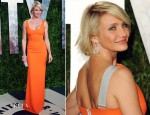 Cameron Diaz In Victoria Beckham - 2012 Vanity Fair Oscar Party