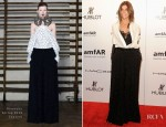 Carine Roitfeld In Givenchy Couture - amfAR New York Gala To Kick Off Fall 2012 Fashion Week