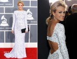 Carrie Underwood In Gomez-Gracia - 2012 Grammy Awards
