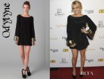 Cassie Scerbo's Odylyne Falcon Dress