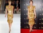 Cate Blanchett In Alexander McQueen - 2012 AACTA Awards