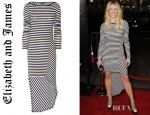 Chelsea Handler's Elizabeth and James Claudia Striped Dress