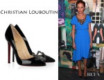 Selita Ebanks' Christian Louboutin Sex Patent Leather Pumps