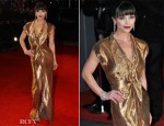 Christina Ricci In Givenchy Couture - 2012 BAFTA Awards