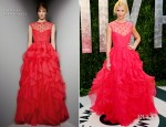 Claire Danes In Valentino - 2012 Vanity Fair Oscar Party