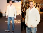 David Beckham for H&M Bodywear Launch