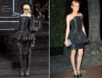 Diane Kruger In Chanel Couture - Chanel and Charles Finch Pre-Oscar Dinner