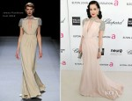 Dita Von Teese In Jenny Packham – Elton John's AIDS Foundation Academy Awards Viewing Party