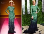 Elizabeth Banks In Chadwick Bell - 2012 Vanity Fair Oscar Party