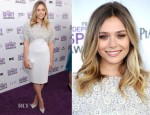 Elizabeth Olsen In Antonio Berardi - 2012 Independent Spirit Awards