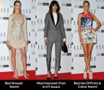 Fashion Critics' 2012 Elle Style Awards Round Up