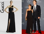 Elsa Pataky's Gucci Silk Gown