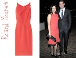 Emily Blunt's Roland Mouret Mordecai Stretch Crepe Dress