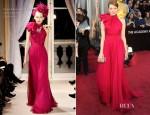 Emma Stone In Giambattista Valli Couture - 2012 Oscars