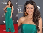 Emmanuelle Chriqui In Maria Lucia Hohan - NFL Honors and Pepsi Rookie Of The Year Event