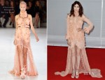 Florence Welch In Alexander McQueen - 2012 Brit Awards