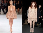 Florence Welch In Alexander McQueen - The Universal Brit Awards After Party