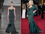 Glenn Close In Zac Posen - 2012 Oscars