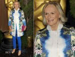 Glenn Close In Stella McCartney - 2012 Academy Awards Nominations Luncheon