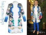 Glenn Close's Stella McCartney Maxime Hawaiian Print Coat