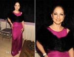 Gloria Estefan In Roberto Cavalli - amfAR New York Gala To Kick Off Fall 2012 Fashion Week