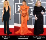 Fashion Critics' 2012 Grammy Awards Round Up