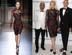 Gwen Stefani In Zuhair Murad Couture - Elton John's AIDS Foundation Academy Awards Viewing Party