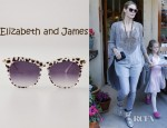 Heidi Klum's Elizabeth and James Limited Edition Leopard Fairfax Sunglasses