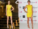 Heidi Klum In Atelier Versace - Elton John AIDS Foundation Academy Awards Viewing Party