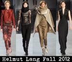 Helmut Lang Fall 2012