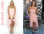 Jana Kramer's Blaque Label Sweetheart Chiffon Dress