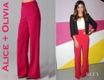 Jenna Dewan-Tatum's Alice + Olivia High Waist Wide Leg Pants