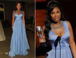 Jennifer Hudson In Maria Lucia Hohan - 2012 NAACP Image Awards
